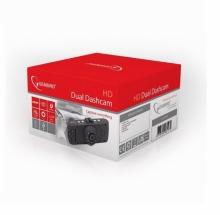 Видеорегистратор с 2 камери и нощно виждане HD Gembird DCAM-006