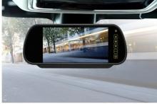 Огледало с вграден 7 инчов монитор + камера за заднен ход