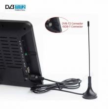 Мултимедиен портативен телевизор с цифров тунер DVB-T2 LEADSTAR D9 9 инча