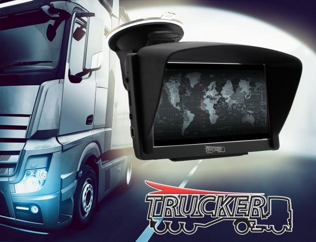GPS навигация за камиони Trucker 7 – 7 инча, 800MhZ, Сенник