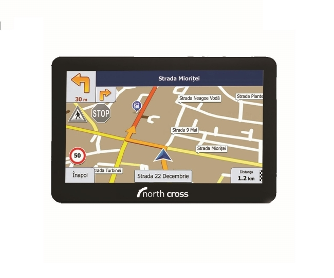 North Cross ES725FE TRUCK GPS навигация за камиони  - 7 инча, 256MB RAM, 8GB