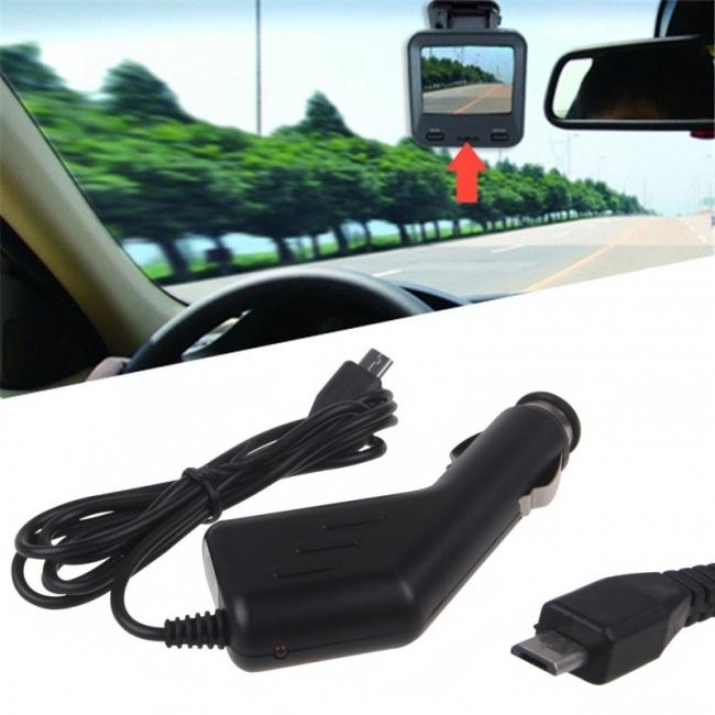 Зарядно за видерегистратор за кола с micro USB - 1500mah