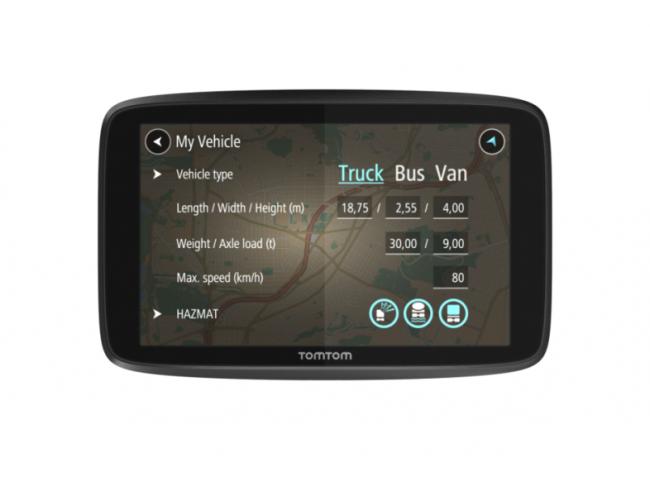GPS навигация TOMTOM за камион GO PROFESSIONAL 6250 LM WIFI