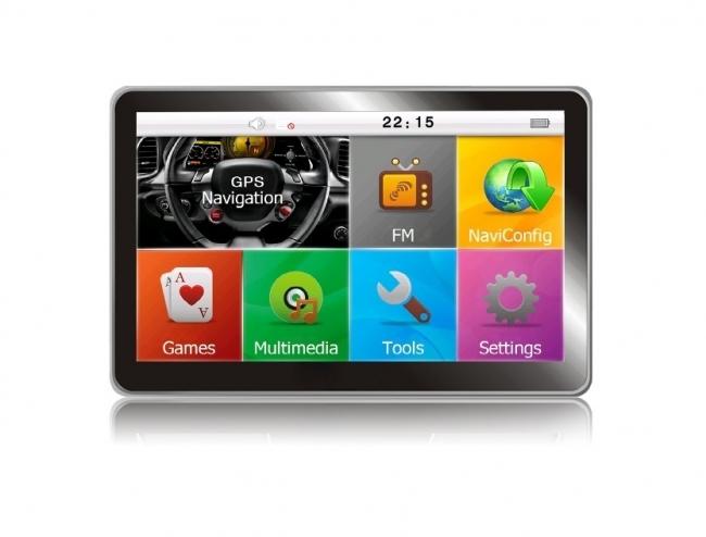 GPS навигация MEDIATEK E5 256MB RAM - 5 инча за кола и камион
