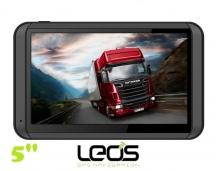GPS навигация LEOS M5 - 5 инча + 4GB - КОЛА-КАМИОН