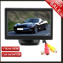 Монитор за камера за задно виждане с 2 видео входа - 5 инча TFT LCD