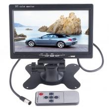 Монитор за връзка с камера за паркиране, DVD, VCR, CCTV с 2 видео входа