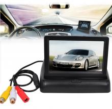 Камера за задно виждане 4.3 инча сгъваем TFT LCD монитор
