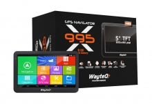 GPS навигация за камиони WayteQ x995 Android 4.4, Bluetooth, WIFI