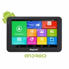 WayteQ x995 GPS навигация с Android за камиони, WIFI, 24GB