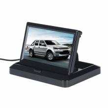 TFT LCD Сгъваем 5 инчов монитор за камера за задно виждане