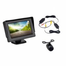 4.3 инча монитор + БЕЗЖИЧНА камера - комплект за задно виждане AT BW-430-940
