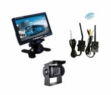 """Безжична система AT C109M 7"""" монитор + IR камера за паркиране на камиони, кемпери"""